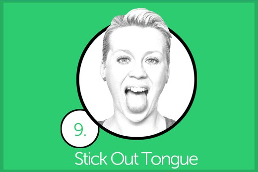 EXERCISE 9: Stick Out Tongue