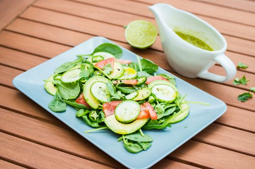 9. Lime-Cilantro Dressing
