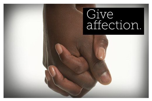 6. Connect and Be Affectionate