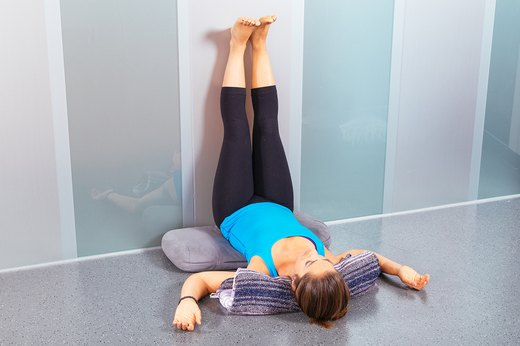 1. Legs-Up-the-Wall Pose (Viparita Karani)
