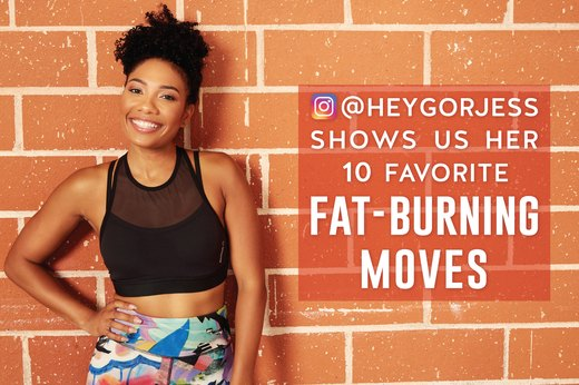 This Instagram Star's 10 Favorite Fat-Burning Moves