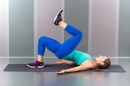 3. Single-Leg Glute Bridge