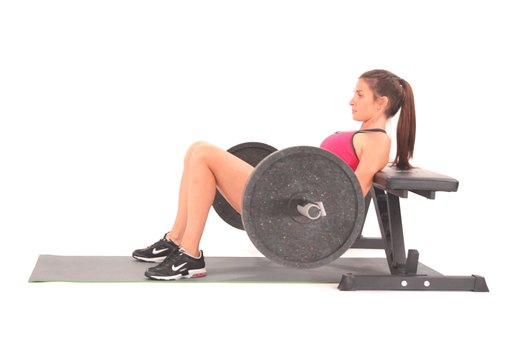7. Complete 10 Barbell Hip Thrusts at 1.5 Times Your Body Weight