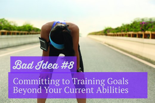 8. Committing to Training Goals Beyond Your Current Abilities