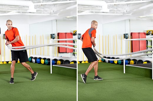 4. Standing Hip-Toss Rotation