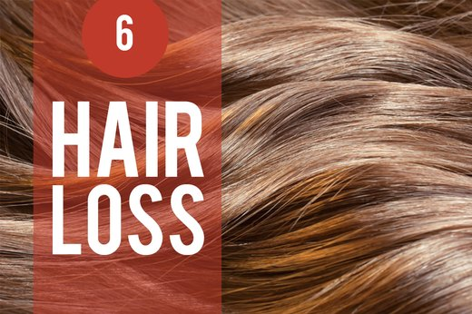 6. Stress Triggers Hair Loss