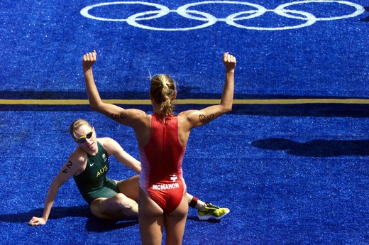 17. Triathlon Is Added to the Olympics (2000 Sydney)
