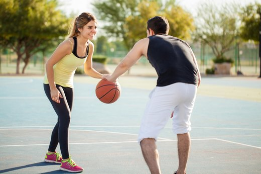 12. Play a Little One-on-One Basketball