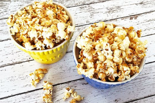 "4. Sneaky Salted ""Caramel"" Popcorn"