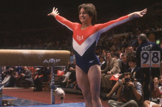 13. Mary Lou Retton Wins Overall Gymnastics Title (1984 Los Angeles)