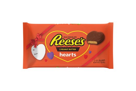 10. Reese's Peanut Butter Hearts