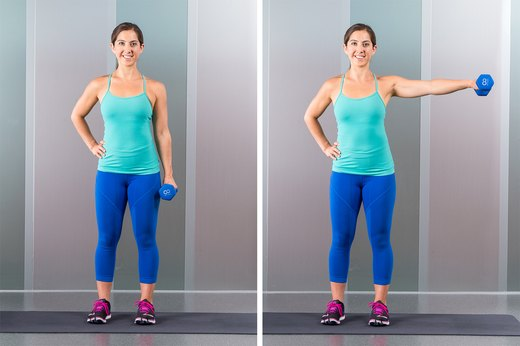6. One-Armed Lateral Raise