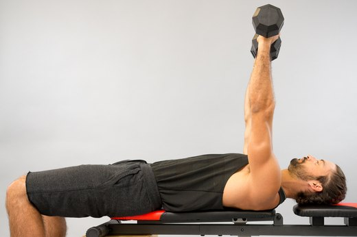 1. Alternate-Arm Dumbbell Bench Press