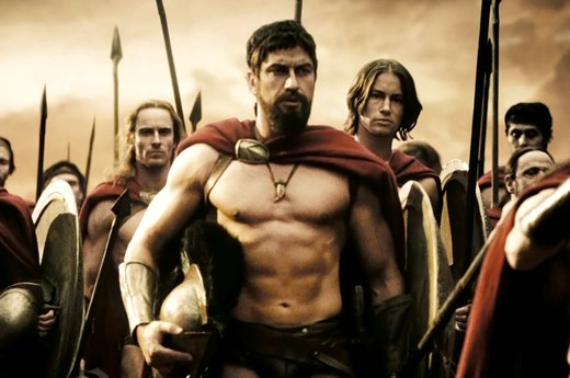 "4. Gerard Butler in ""300"""
