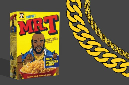 19. Mr. T Cereal