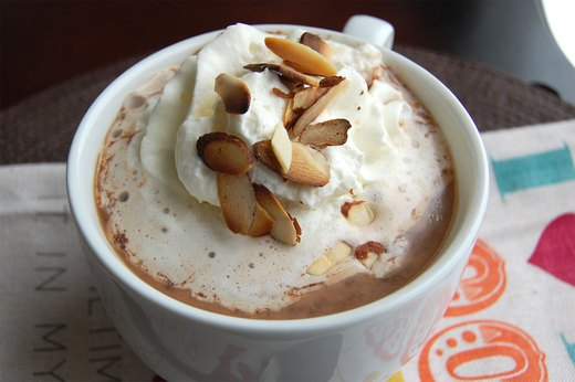 10. Chocolate Almond Protein Cocoa