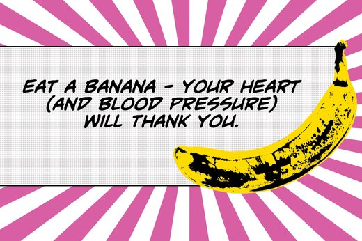 14. Bananas Are High in Blood Pressure-Lowering Potassium