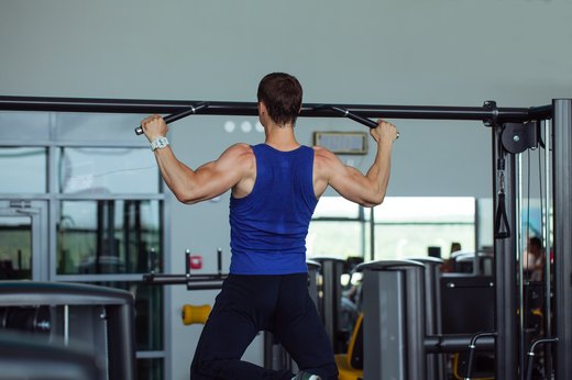 5. Pull-Up Series Drop Set