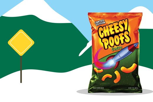 26. Cheesy Poofs