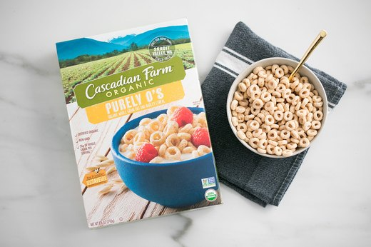 Better-for-You Swap: Cascadian Farm Organic Purely O's Cereal