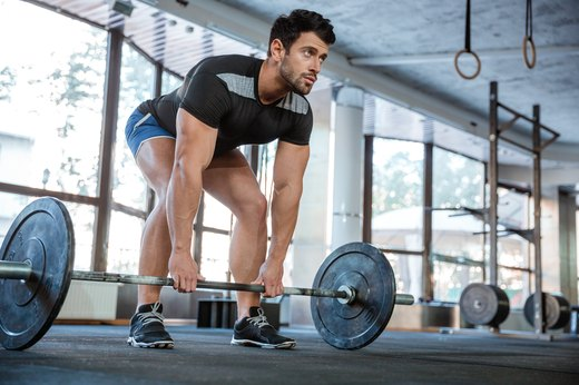 1. Deadlift Drop Set