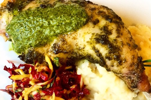 Paleo Chimichurri Chicken (MCT oil)