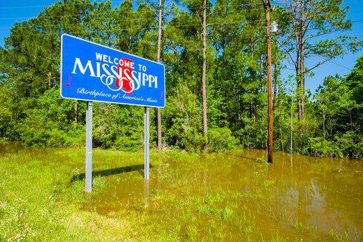 3. Most Stressed: Mississippi