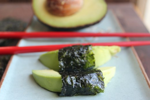 10. Nori-Wrapped Avocado