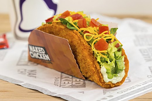 3. Naked Chicken Chalupa