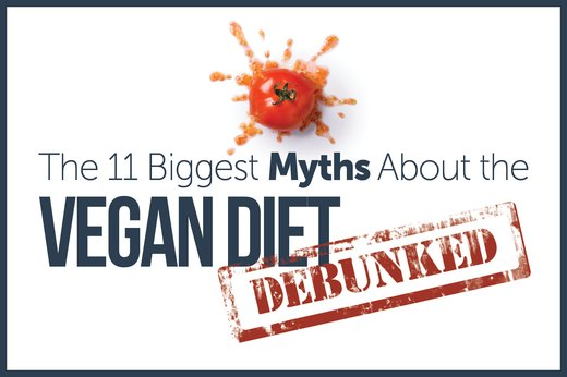 The 11 Biggest Myths About the Vegan Diet, Debunked