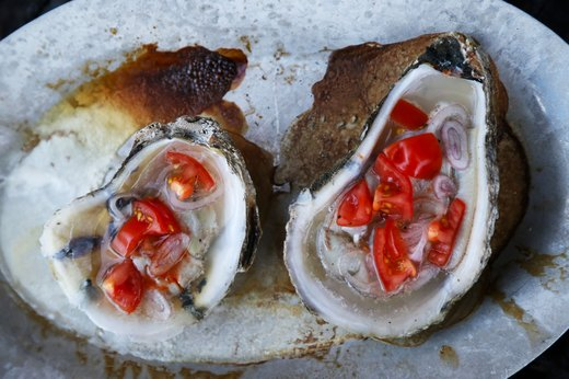 6. Grilled Oysters