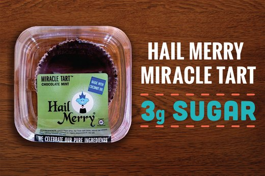 1. Hail Merry Miracle Tarts: 3 Grams of Sugar (1 Tart)