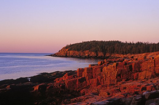 1. For an Unforgettable Sunrise: Acadia National Park, Maine