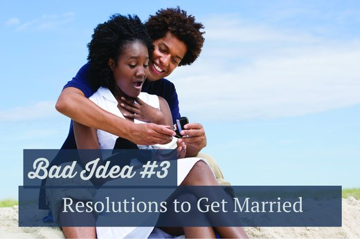 3. Resolutions to Get Married