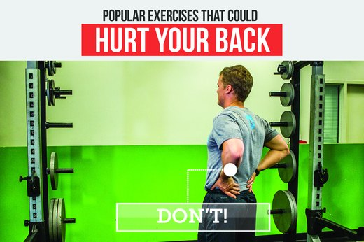 10 Popular Exercises That Can Hurt Your Back