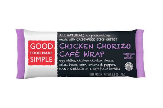 BEST: Good Food Made Simple Chicken Chorizo Café Wrap