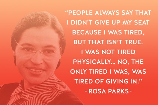 6. Rosa Parks: Civil Rights Activist