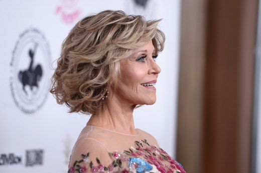 14. Jane Fonda, actress, writer and political activist