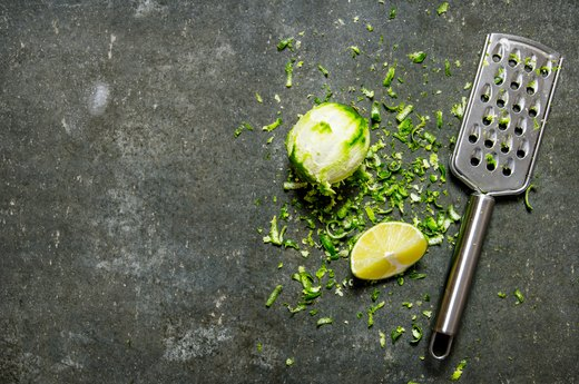 3. Lime Zest