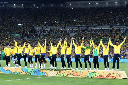 3. Brazil Takes Gold in Two Men's Team Sports