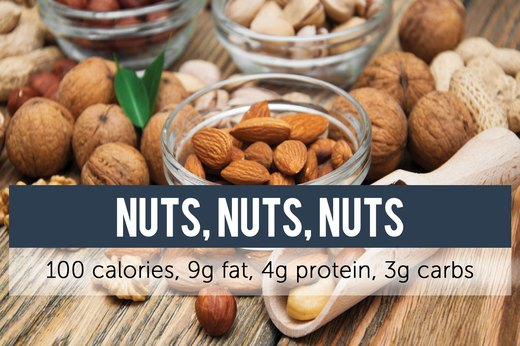 10. Almonds, Walnuts, Pistachios and More