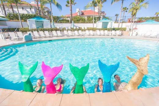 12. Mermaid Fitness at The Hotel del Coronado