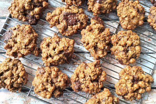 1. Sweet-n-Salty Chocolate Chip Cookies With Crispy Chickpeas