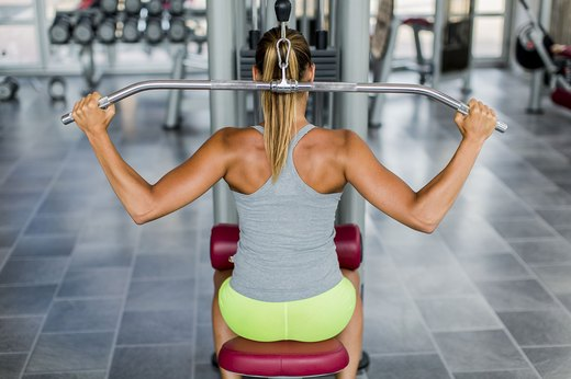 1. Behind-the-Neck Pulldowns
