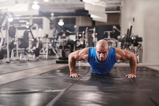 8. Push-Up Series Drop Set
