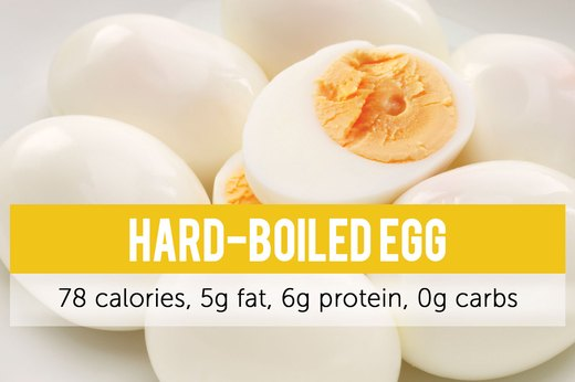 8. Hard-Boiled Egg