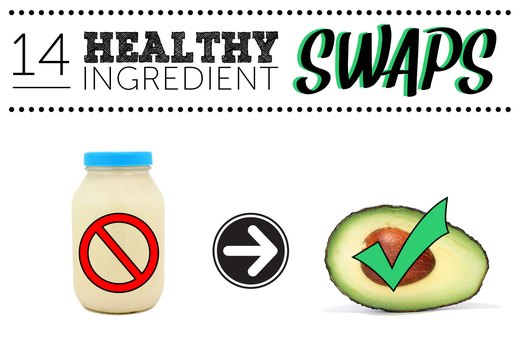 14 Ingredient Swaps to Make Your Recipes Healthier