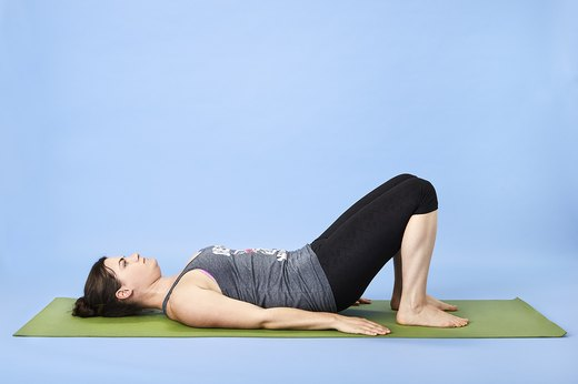 9. Core-Strengthening Pelvic Tilts