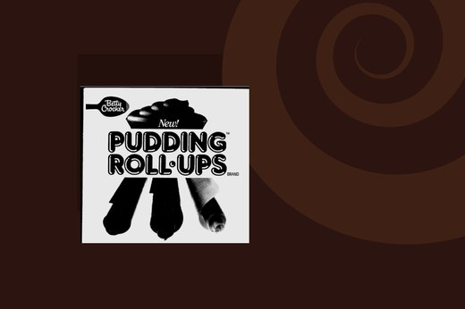 21. Pudding Roll-Ups
