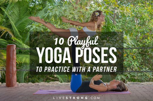10 Playful Yoga Poses to Practice With a Partner